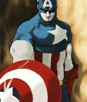 Capt. America by Splittingadams