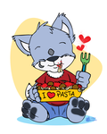 The Pasta Lover by Tavi-Munk