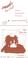 DRRR fancomic: does it hurt? Shizaya by artist-san
