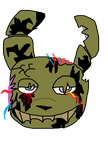 Springtrap Page Doll by MeshiTheDeer