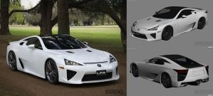 2011 Lexus LFA WIP 3 by The-IC
