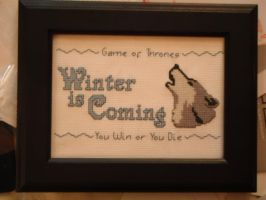 Winter is Coming by dottypurrs