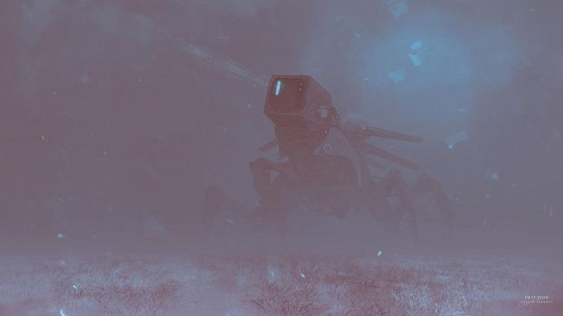 First snow by KuldarLeement
