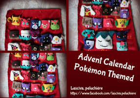 Advent Calendar Pokemon Themed details views by Peluchiere