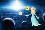 Rosalina at the Blue Galaxy by 555Alex555