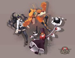 SkullGirls by jason92