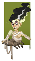 Bride Of Frankenstein by CamaraSketch
