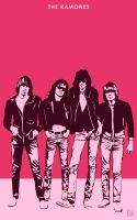 The Ramones by monsteroftheid