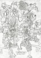 Kingdom Hearts Dimensions by HeroArt110