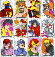 Marvel Beginnings Series 2 Sketch Cards... by jerryma