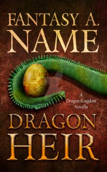 Book Cover Pre-Made: Dragon Heir (AVAILABLE) by arebg452