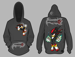 Shadow the hedgehog hoodie by shadowhatesomochao