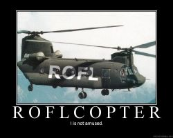 ROFLcopter by Uniquefantasy