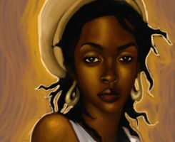 Lauryn Hill Final by zigbone