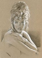 Dejah Thoris by abraun