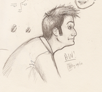 Cute Doctor Sketch by Girl-on-the-Moon
