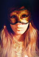 Golden mask by Ayanade