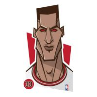 Scottie Pippen Vector by funky23