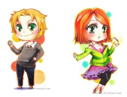 Special offer chibis by SimonneX