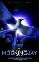 Mockingjay Pt. 1 Fan-made Poster by TributeDesign