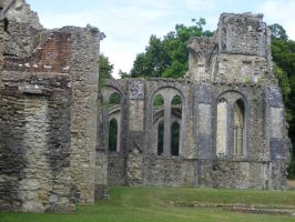 Netley Abbey 11 by LadyxBoleyn