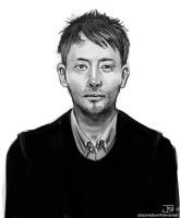 -Thom Yorke- by obsceneblue