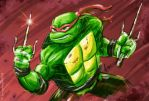 Really Rough Raphael by 2Ajoe