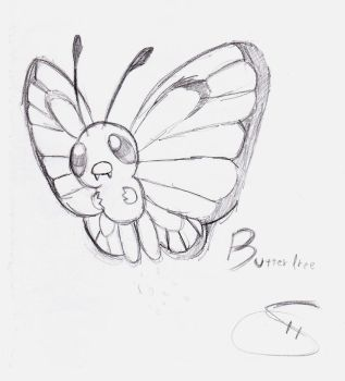 Butterfree by henrybarros