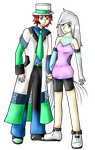 .:Full Body Commission:. Max and Hexia by DarkBox-V2K