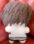 Shannon Leto plushie by falloutgirl03