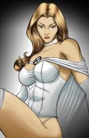 Emma Frost Color by madd-sketch