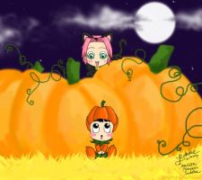 Rock Lee, Pumpkin Sweetie :'3 by bommie