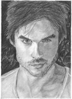 Ian Somerhalder-Damon by bclara88