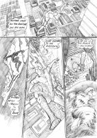 Spider-man: black and white page 3 by PJBhavsar