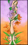 Lilac Tiger Lillies by irVampire