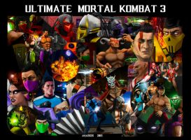 Ultimate Mortal Kombat 3 by Arch2626