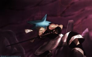 Black Star wall by Soulsavior42