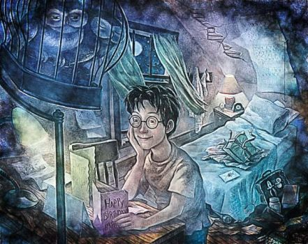 Harry Potter Art by giselleejacques1989