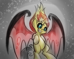 Demon Sunset Shimmer by drawponies