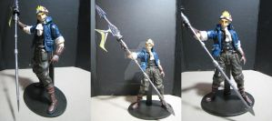 FF7 Cid Custom Play Arts by neoarchangemon