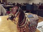 Arabian model horse by LazyHcustomtack