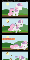 MLP: Marshmallow Joke by postcrusade