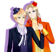 FRUK (3)   [Diamond King and Spade Queen] by FRUK4ever