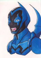 Blue Beetle Marker by Volador-N7