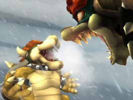 Scream at you face by Queen-Koopa