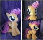 Scootaloo Plush by SillyBunnies