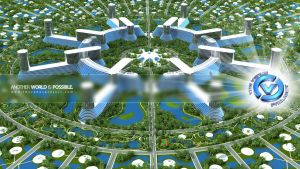 The Venus Project Circular City 3 by carbonism