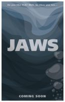 Jaws Movie Poster by RockyRoark