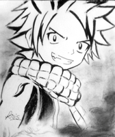 Natsu Dragneel by canonclassicrock21