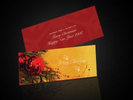 Christmas Greeting Card by beshoywilliam